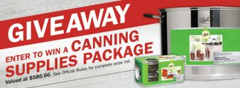 Fleet Farm · Canning Supplies Giveaway Sweepstakes