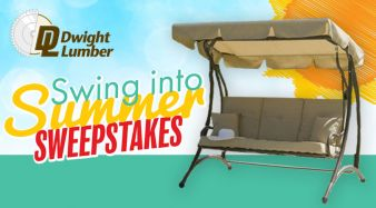 The Swing Into Summer Sweepstakes From Dwight Lumber Sweepstakes