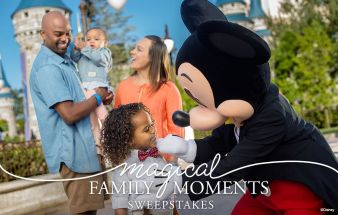 Magical Family Moments Sweepstakes Sweepstakes