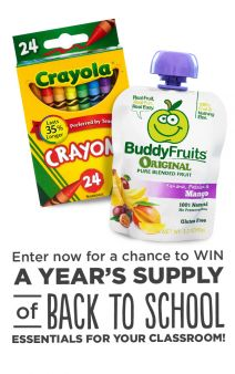 Buddy Fruits Sweepstakes