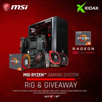 MSI Gaming Sweepstakes