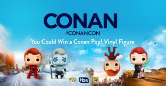 The Conan Pop! Figure Giveaway Sweepstakes