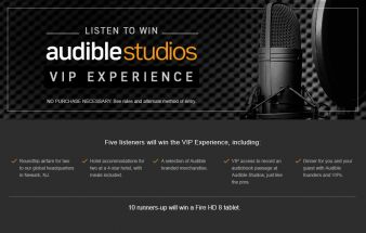 Audible Sweepstakes
