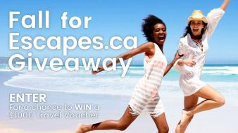 Escapes.ca Sweepstakes