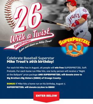 SUPERPRETZEL Sweepstakes
