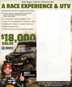 Bass Pro Shops Sweepstakes