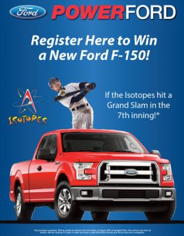 Power Ford Sweepstakes