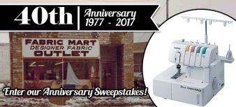 Fabric Mart Sweepstakes