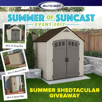 Suncast Corporation Sweepstakes