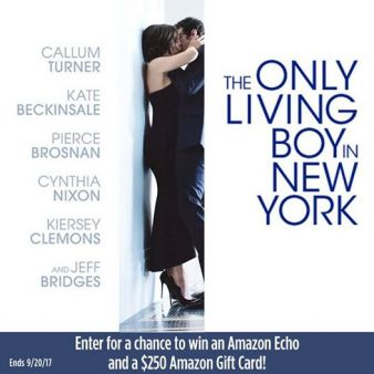 Landmark Theatres · 	THE ONLY LIVING BOY IN NEW YORK Sweeps Sweepstakes