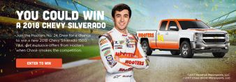 Hooters · Win a Truck Sweeps Sweepstakes