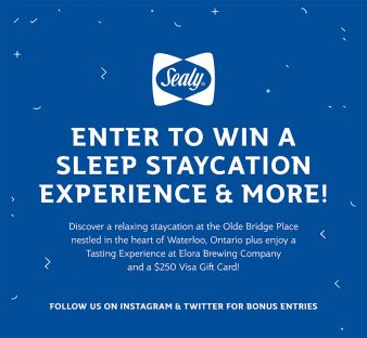 Sealy Canada Sweepstakes