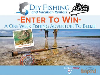 DIY Fishing and Fly Fishing Nation Giveaway Sweepstakes