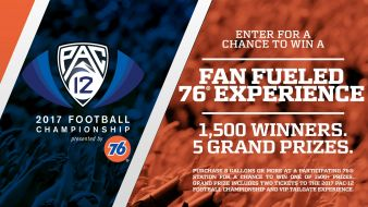 THE PAC 12 FOOTBALL CHAMPIONSHIP SWEEPSTAKES Sweepstakes