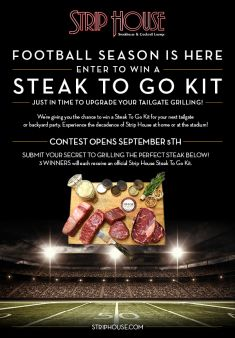 Strip House Sweepstakes