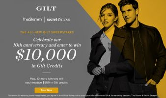 The All-New Gilt Sweepstakes Sweepstakes