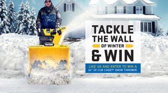 Cub Cadet Canda -Tackle the Wall of Winter Sweepstakes