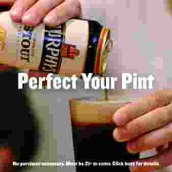 MURPHY'S PERFECT YOUR PINT SWEEPSTAKES Sweepstakes