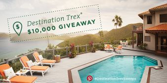 The Trex Blog Sweepstakes