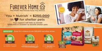 Ainsworth Pet Nutrition Furever HOME Sweepstakes Sweepstakes