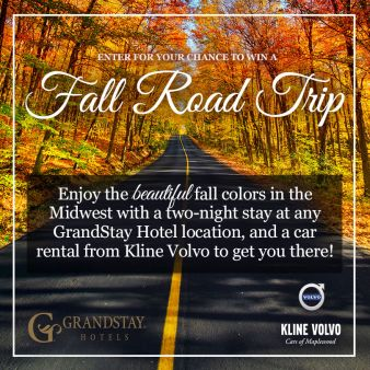 Fall Road Trip with Grand Stay Sweepstakes Sweepstakes