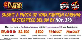 Pumpkin Masters Sweepstakes