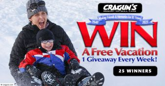Cragun's Resort And Hotel Sweepstakes