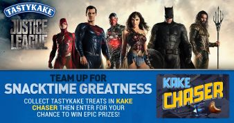 Tastykake & Justice League Sweepstakes! Sweepstakes