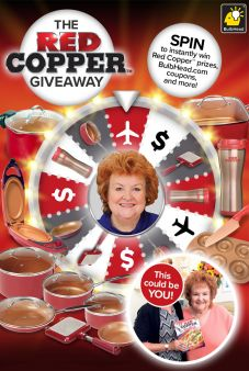 BulbHead · RED COPPER® Instant Win & Sweeps Sweepstakes