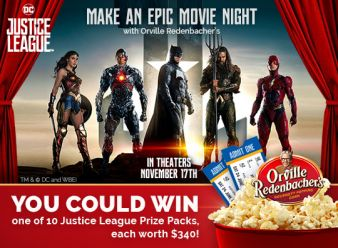 The Orville Redenbacher's Do Popcorn Justice Sweepstakes Sweepstakes