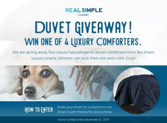 Real Simple Clean Sweepstakes