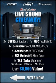 Pro Audio Star Sweepstakes