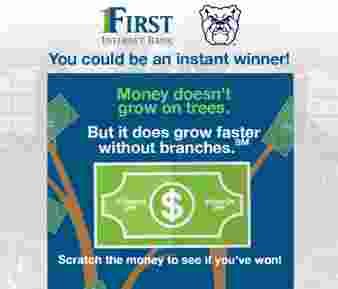 First Internet Bank Sweepstakes