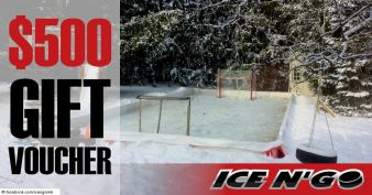 Win One of Two Ice N'Go Pro Commercial Backyard Rink Kits Sweepstakes