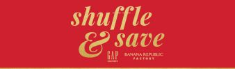 GAP Factory & Banana Republic Factory Shuffle & Save Sweepstakes