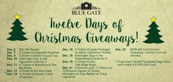 BLUE GATE Sweepstakes