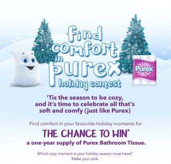 Purex Bathroom Tissue Sweepstakes