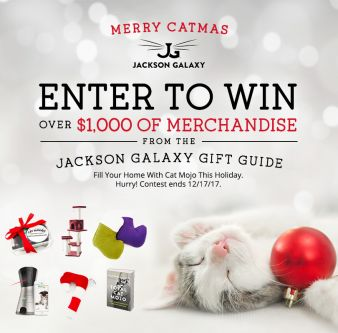 Jackson Galaxy Sweepstakes