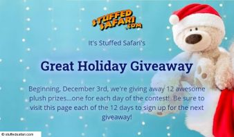 Stuffed Safar Sweepstakes