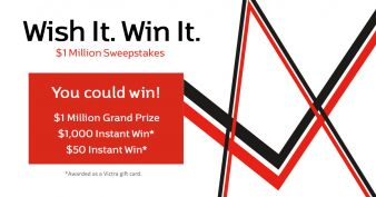 WISH IT! WIN IT! $1 MILLION SWEEPSTAKES Sweepstakes