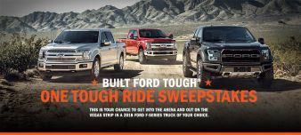 BUILT FORD TOUGH BEHIND THE RIDE SWEEPSTAKES Sweepstakes