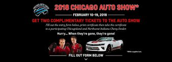 Chevy Drives Chicago Sweepstakes