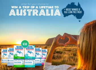 Blue Lizard® Australian Sunscreen Sweepstakes