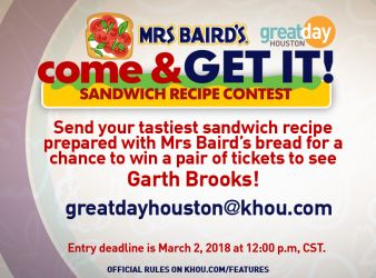 Mrs Baird's Sweepstakes