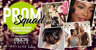 Garnier Prom Squad Instant Win Game & Sweepstakes Sweepstakes