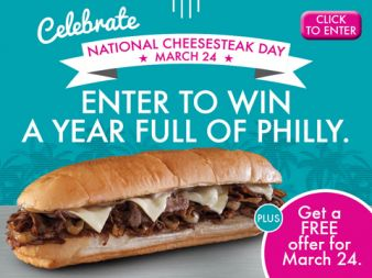 Miami Subs Grill Sweepstakes