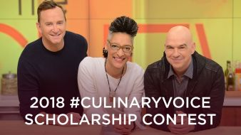 2018 #CulinaryVoice Scholarship Contest Sweepstakes