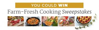 America's Test Kitchen · Farm-Fresh Cooking Sweeps Sweepstakes