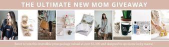 SSeko Designs · The Ultimate New Mom Giveaway Sweepstakes