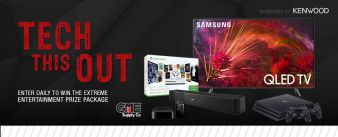 GME Supply · Tech This Out Sweepstakes
